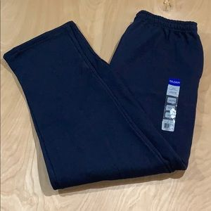 NWT Gildan Mens Sweatpants Size 2XL Blue